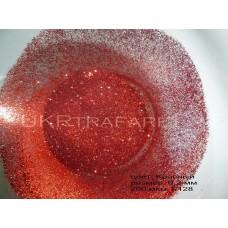 Глиттер красный 0,2 мм 0,4 мм