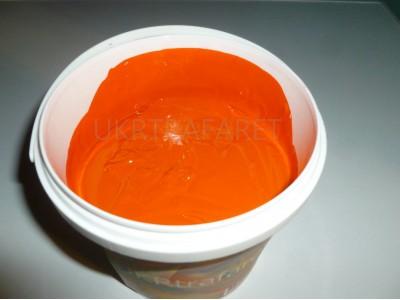 пластизолевая краска оранжевая