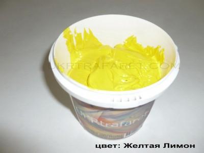 пластизолевая краска желтая лимон