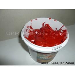 Пластизолевая пластизольная краска Красная