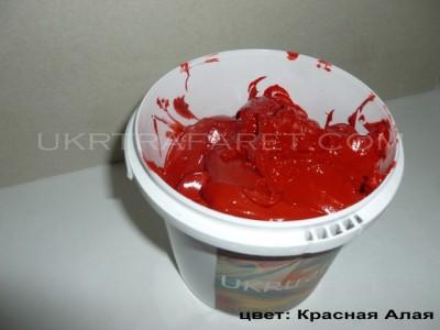 пластизольная краска красная